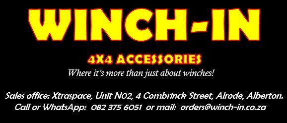 Winch-In (Pty) Ltd * Importer/Distributor/Fitment Centre Logo